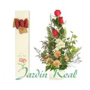 Jardin Real 3 Rosas