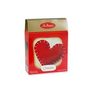 Corazon de chocolate