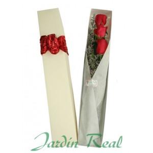 Caja especial 3 rosas