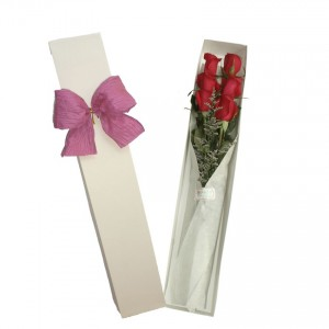 Caja especial de 6 rosas
